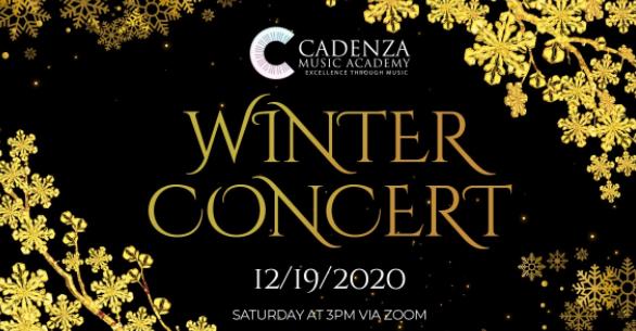 Cadenza Winter Concert